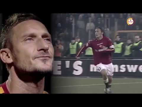 Our tribute to the great Francesco Totti
