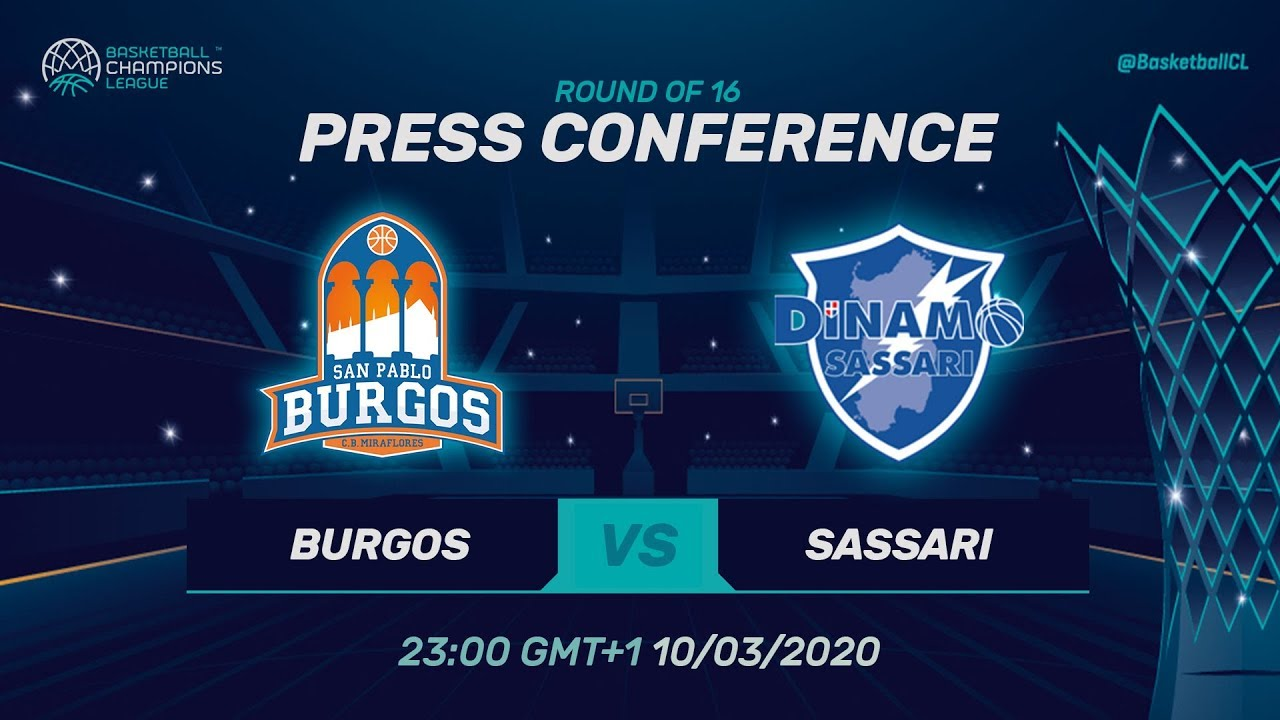 San Pablo Burgos v Dinamo Sassari - PC - Round of 16 - Basketball Champions League 2019