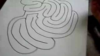 How to Draw a Medium diffculty maze