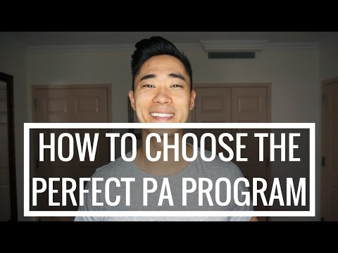 Pre-PA | How To Choose The Perfect PA Program!