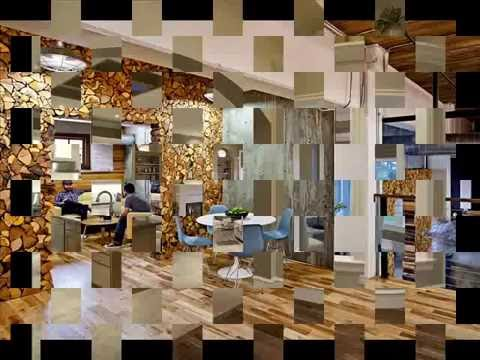 Необычные интерьеры кухни