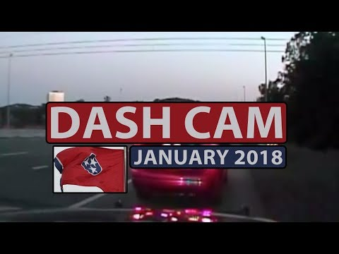 Dash Cam | POLICE CAR CHASE | January 5, 2018 | High Speed Pursuit