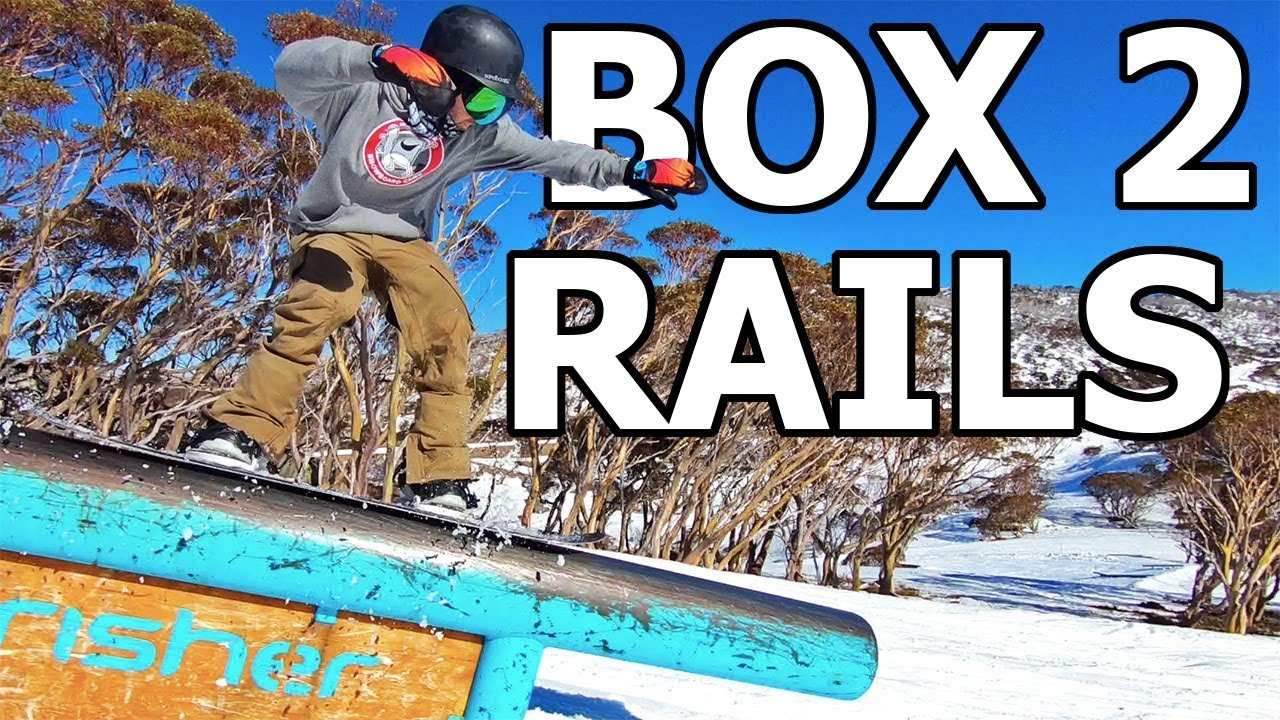 9a85440bdfbd Progressing From Boxes to Rails - Snowboarding Trick Tutorial - YouTube