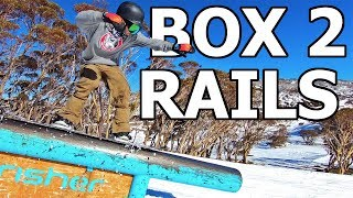 Progressing From Boxes to Rails - Snowboarding Trick Tutorial