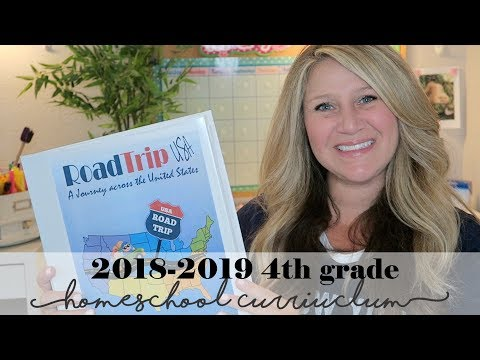 20182019 4th Grade Homeschool Curriculum