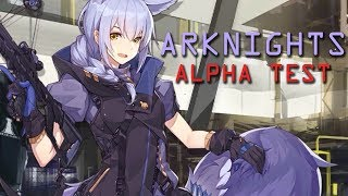 Arknights Gameplay Alpha Test Anime Tower Defense Part 1