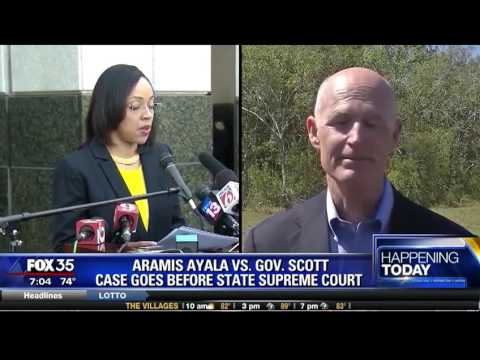 Aramis Ayala v.s. Governor Scott: Case Goes Before State Supreme Court