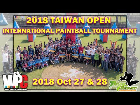 2018 Taiwan Open International Paintball Tournament