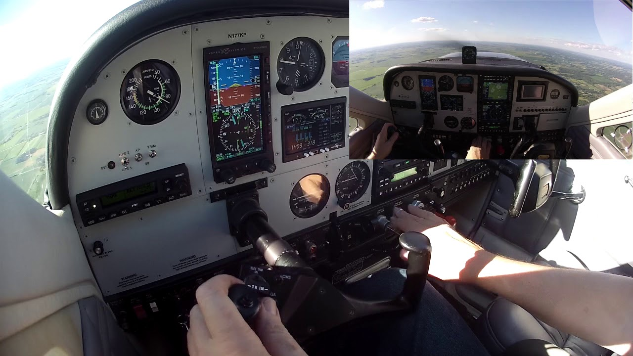 Edge Protection and Level Mode on the S-TEC 3100 autopilot in a Cardinal RG