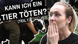 Kann ich ein Tier töten? - Test: Ariane versucht, selbst zu schlachten (Teil 1) || PULS Reportage