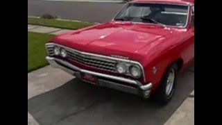 67 Chevelle Nitrous Breathing 283 Burnout