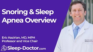 Snoring and Obstructive Sleep Apnea 1: Overview