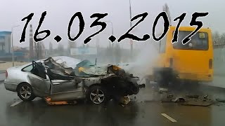 Свежая подборка аварии и дтп за март 2015 32 Car crash compilation 2015
