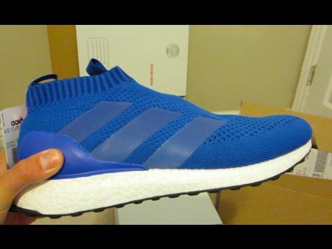 "Bootshead Adidas ACE 17+ Purecontrol Ultra BOOST ""Blue Blast"" Unbox ""title ="" Bootshead Adidas ACE 17+ Purecontrol Ultra BOOST ""Blue Blast"" Unbox"