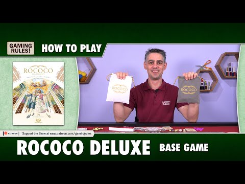 Rococo Deluxe - How to Play - Base game rules