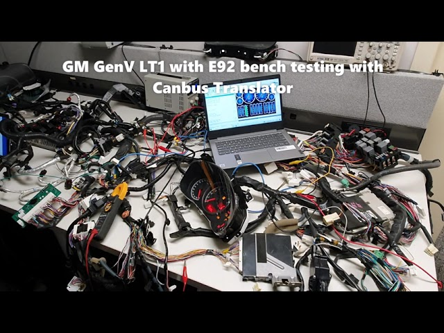 GM GenV LT1 Harness modification for the BRZ 86 FRS