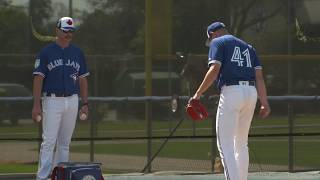 Toronto Blue Jays: Aaron Sanchez Bullpen Session