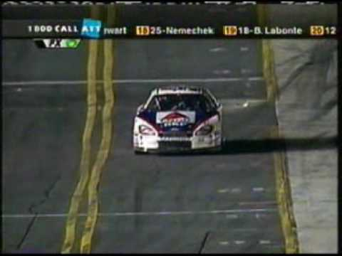 2002 Winston - Jeff Burton exploits a loophole / finish of segment 1