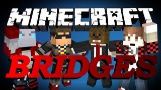 Minecraft Bridges 2.0 Minigame w/SkyDoesMinecraft, BajanCanadian and NoochM #3