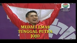 Full Final Badminton Tunggal Putra Jonatan Christie Vs Chou Tien Chen di Asian Games 2018