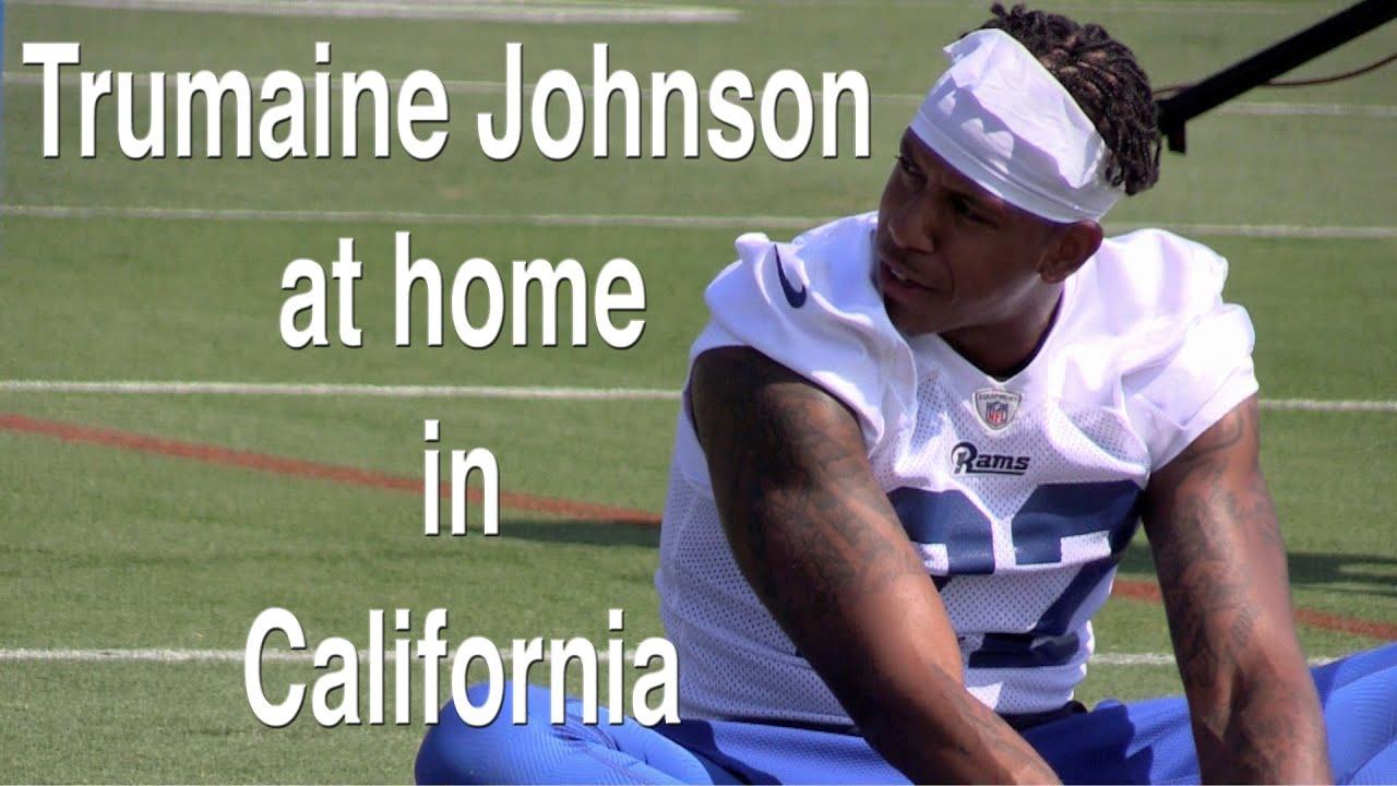California is home for Rams cornerback Trumaine Johnson
