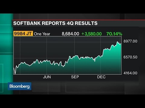 SoftBank CEO Focused on Future With 100B Fund