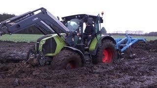Arion w błocie / Claas in the mud / Arion 540 im Schlamm