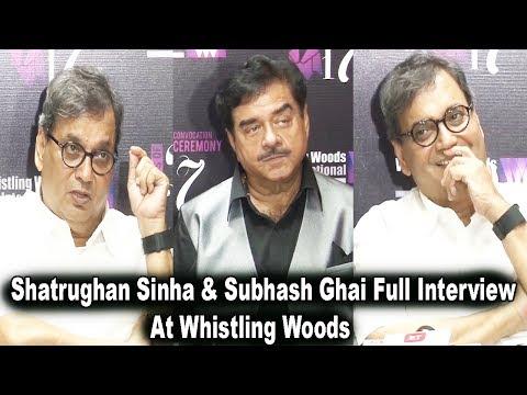 Shatrughan Sinha & Subhash Ghai Interview With Media