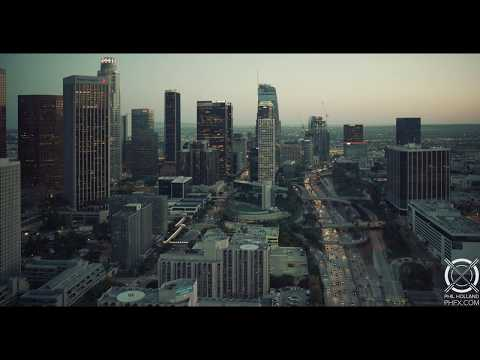 2 Minutes Above Los Angeles in 8K