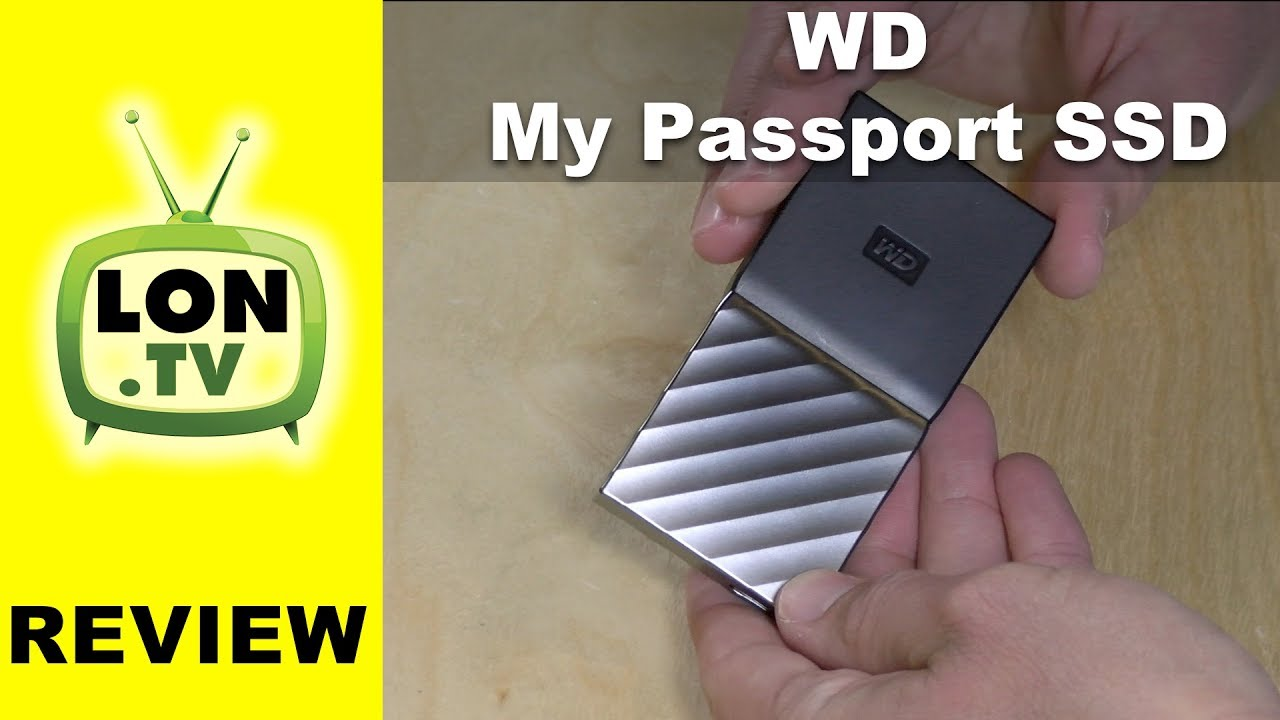 Wd My Passport Ssd Review Portable Solid State Drive Youtube Wdbbkd0030 3tb Hard Disk Cartridge