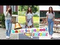BACK TO SCHOOL - Outfits Ideas !