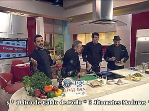 chef manuel salcido en cocina practica de televisa guadalajara