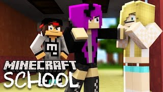 Minecraft School - LITTLE LIZARD'S GIRLFRIEND GETS BULLIED!?