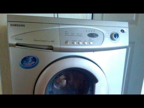 Разборка стиральной машины Samsung, замена подшипника в стиральной машине Самсунг.