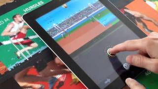 Retro Decathlon 2012 for iPhone, iPad and iPod Touch (In-Game Footage from iPad)