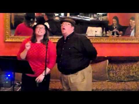 "Meg Nemeth & Stephen Yednock - ""Supercalifragilisticexpialidocious"" (Mary Poppins)"