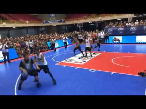 NBA 3X Puerto Rico Team Molusco vs Reggaeton All Stars