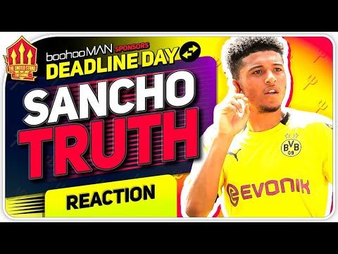Sancho Transfer The Truth! Man United Transfer News