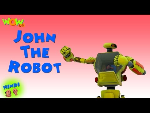 John The Robot | Motu Patlu in Hindi | Popular Cartoon for Kids | As seen on  Nickelodeon thumbnail