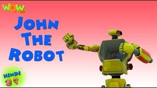 John The Robot - Motu Patlu in Hindi - 3D Animation Cartoon for Kids -As seen on  Nickelodeon