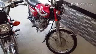 Honda cg 125 exhaust Modified