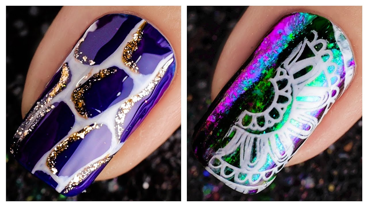 Cute Nail Art Design 2019 ️💅 Compilation | Simple Nails ...