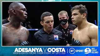 Israel Adesanya knocks Paulo Costa out after dominating him early on | UFC 253