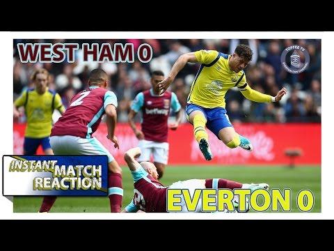 Bore Draw ! West Ham 0 0 Everton | Instant Match Reaction