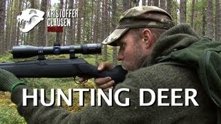 Repeat youtube video Hunting deer. Filmed and hunted by Kristoffer Clausen