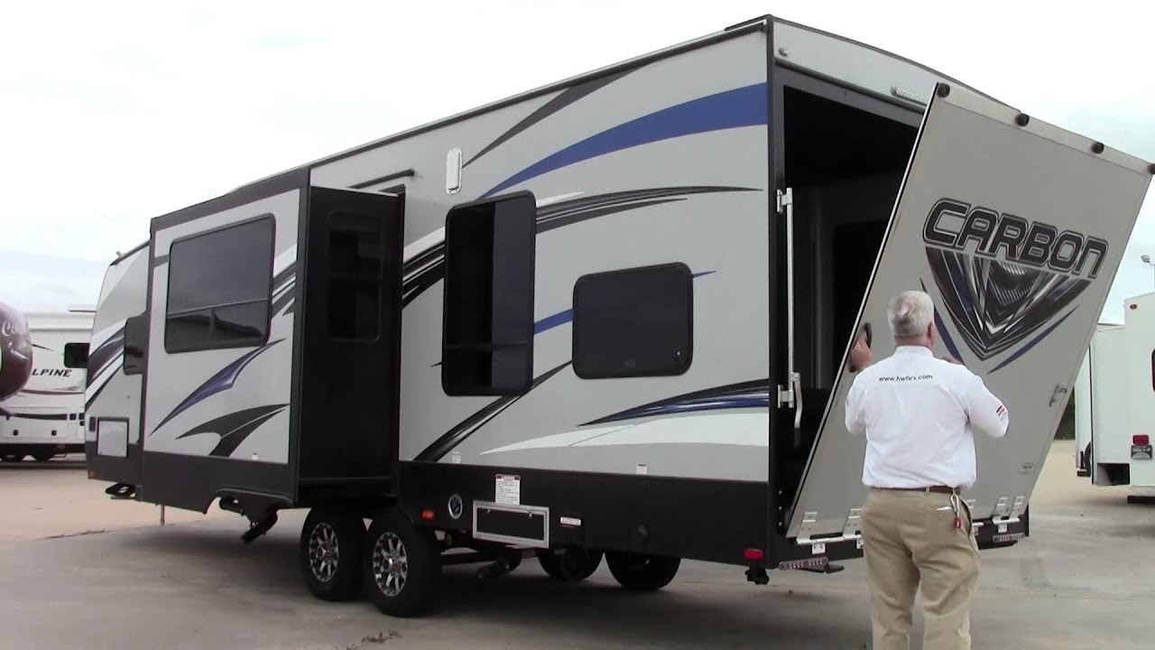 Preowned 2016 Keystone Carbon 31 Travel Trailer Toy Hauler