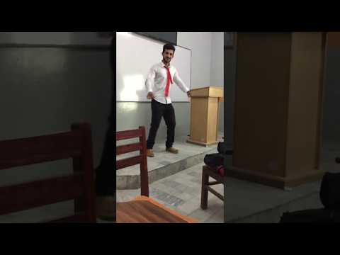 Dancing on Ohoo Arabic Lada Chaudhry At Concordia College