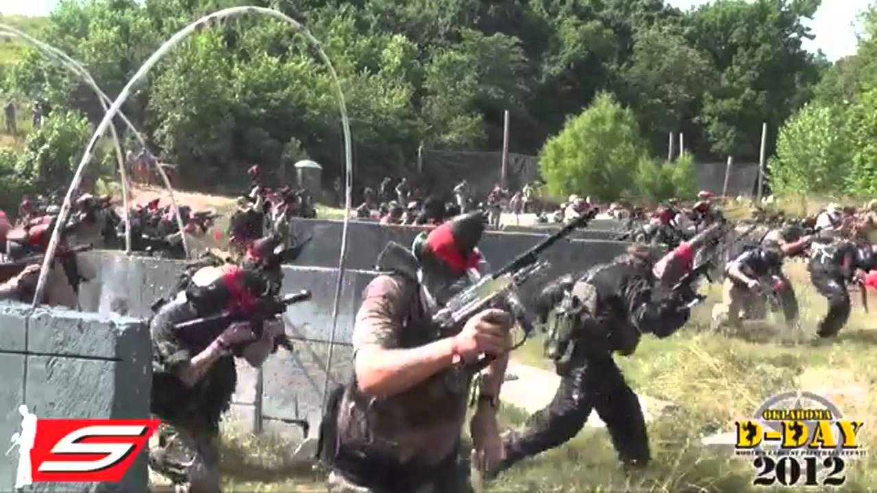 Paintball d day