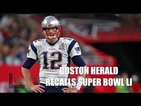 Boston Herald writers recall Patriots stunning victory in Super Bowl LI