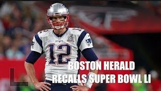 Boston Herald writers recall Patriots stunning victory in Super Bowl LI